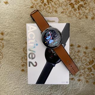 ギャラクシー(Galaxy)のGalaxy Watch Active2 / 44mm [国内正規品] (腕時計(デジタル))