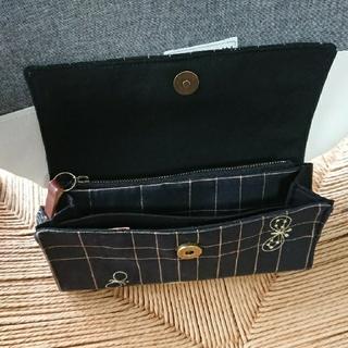 ミナペルホネン(mina perhonen)のミナペルホネン財布、通帳が入るポーチ(財布)