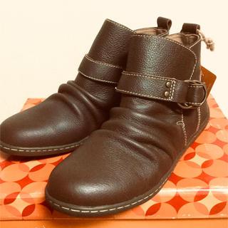 ヒロミチナカノ(HIROMICHI NAKANO)の最終お値下げ【新品未使用】本革ショートブーツ(ブーツ)