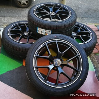 ベンチ(Bench)の新品 ベンツ タイヤ&ホイール4本セット Vクラス W447 BK933 19(タイヤ・ホイールセット)