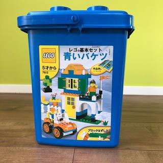 レゴ(Lego)のレゴ 青いバケツ他セット(積み木/ブロック)