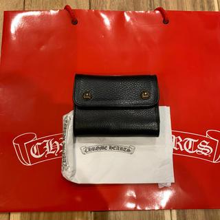 クロムハーツ(Chrome Hearts)のレア クロムハーツ WAVE MINI ウェーブ ミニ 財布 二つ折り(折り財布)