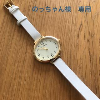 タカラジマシャ(宝島社)の素敵なあの人3月号 付録 TABASA腕時計(腕時計)