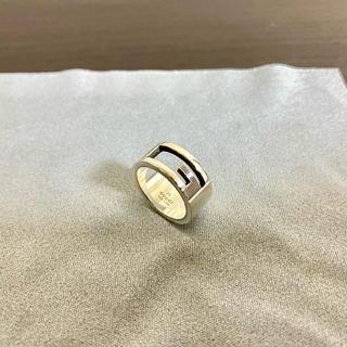 グッチ(Gucci)のGUCCI ロゴリング(リング(指輪))