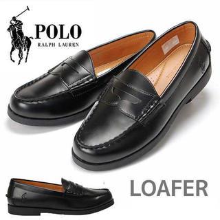 ポロラルフローレン(POLO RALPH LAUREN)のポロラルフローレン ローファー ブラック(ローファー/革靴)
