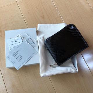 エンダースキーマ(Hender Scheme)のHender Scheme python square zip purse(折り財布)