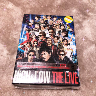 EXILE TRIBE - HIGH&LOW THE LIVE 3枚組