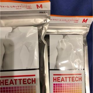 極暖 M ブラック2枚(アンダーシャツ/防寒インナー)