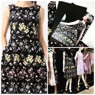 トッカ(TOCCA)の TOCCA GARDEN FLOWER WALTZ ドレス ブラック系 新品(その他)