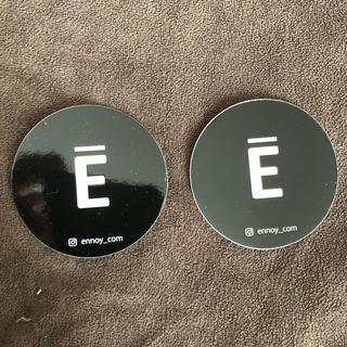 ワンエルディーケーセレクト(1LDK SELECT)の新品 未使用 送料込 ennoy エンノイ ステッカー丸型2枚 スタイリスト私物(その他)