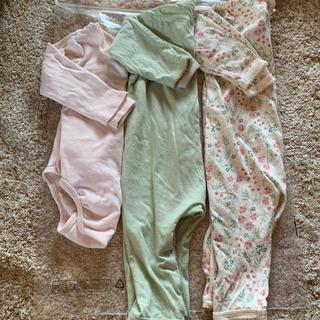 エイチアンドエム(H&M)のエイチアンドエム ロンパース H&M ベビー肌着 セット コンビ肌着 新生児肌着(肌着/下着)