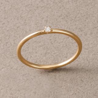 エテ(ete)の【ete】ベーシックダイヤモンドリング(リング(指輪))
