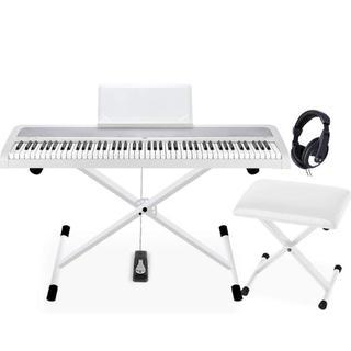 コルグ(KORG)のKORG B1 WHホワイト電子ピアノ(電子ピアノ)