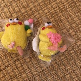 エヌティティドコモ(NTTdocomo)のポインコ ストラップ2個(キャラクターグッズ)