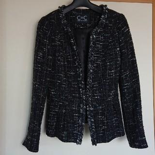 クードシャンス(COUP DE CHANCE)のクードシャンス ツイード スーツ ブラック(スーツ)
