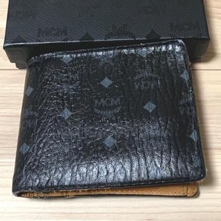 エムシーエム(MCM)のMCM 二つ折りウォレット 正規品(折り財布)