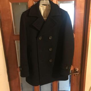 ムジルシリョウヒン(MUJI (無印良品))の無印良品 ウール pコート(ピーコート)