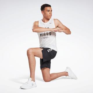 リーボック(Reebok)の新品 LES MILLS ショーツ LES MILLS Shorts サイズL(ショートパンツ)