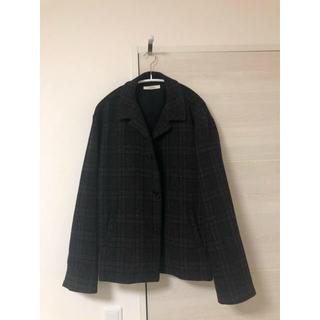 ネストローブ(nest Robe)のnestrobeconfect wool check short blouson(ブルゾン)