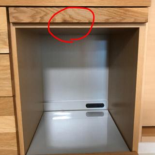 ウニコ(unico)のHUTTE(ヒュッテ)キッチンカウンターオープンW1200(キッチン収納)