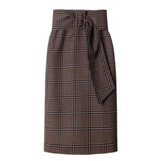 ルシェルブルー(LE CIEL BLEU)の【お値下げ‼︎】人気‼︎ルシェルブルー チェック柄 スカート(ひざ丈スカート)