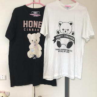 ハニーシナモン(Honey Cinnamon)のハニーシナモン  ロングTシャツ セット(Tシャツ(半袖/袖なし))
