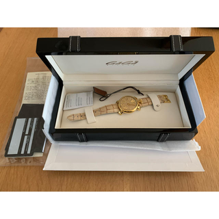 ガガミラノ(GaGa MILANO)のGAGA MILANO  ガガ ミラノ 時計 ゴールド(腕時計)