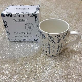 ロクシタン(L'OCCITANE)の新品 非売品☆LOCCITANE☆ノベルティ プロヴァンスマグカップ(グラス/カップ)