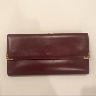 カルティエ(Cartier)のCartier カルティエ 折りたたみ長財布 マストライン(長財布)
