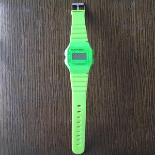 サンダイメジェイソウルブラザーズ(三代目 J Soul Brothers)のBLUE PLANET デジタル 腕時計(腕時計)