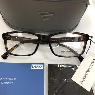 Emporio Armani - エンポリオアルマーニ EA3143F 5089 メガネ アルマーニ 新品 眼鏡