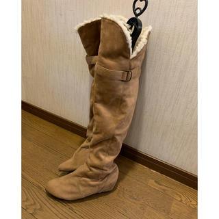 ナチュラルビューティーベーシック(NATURAL BEAUTY BASIC)のロングブーツ(ブーツ)