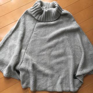 デプレ(DES PRES)のポンチョ型 ウールセーター トゥモローランド DESPRES デプレ(ニット/セーター)