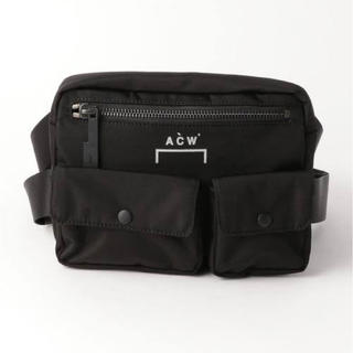 OFF-WHITE - 新品 ☆ A-COLD-WALL* ABDOMEN BAG アブドマンバッグ