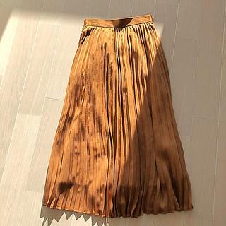 ジーユー(GU)のGU プリーツスカート ロングスカート(ロングスカート)