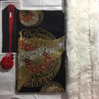 フリフ(ふりふ)の㊗️今週限定値下げ❤️ふりふ❤️✨豪華な袋帯✨京都✨岡重✨(振袖)