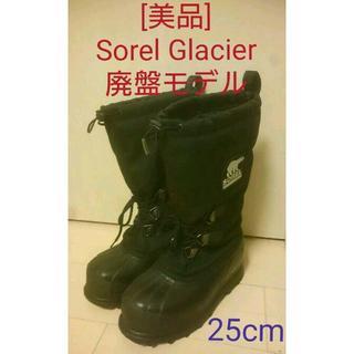 ソレル(SOREL)の【廃盤旧モデル:美品】Sorel Glacier 25cm ソレル グレイシャー(登山用品)