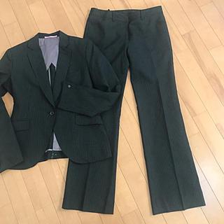 ORIHICA - ORIHICA オリヒカ パンツスーツ 美品 美シルエット スーツ 黒