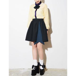 パメオポーズ(PAMEO POSE)のサッシュギャザースカート(ひざ丈スカート)