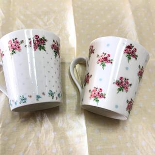 ローラアシュレイ(LAURA ASHLEY)のローラアシュレイマグカップ(グラス/カップ)
