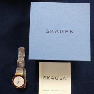 SKAGEN - SKAGENスカーゲン腕時計 358SRSCウルトラスリムメッシュ