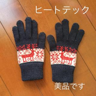ユニクロ(UNIQLO)の《中古品》UNIQLO ヒートテック手袋(手袋)