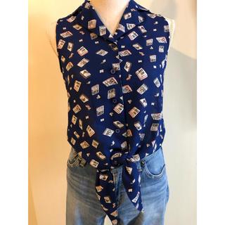 メリージェニー(merry jenny)のmerry jenny  ノースリーブシャツ(Tシャツ(半袖/袖なし))