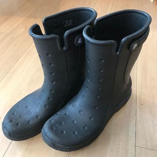 クロックス(crocs)のクロックス 長靴 レインブーツ ブラック 27cm(長靴/レインシューズ)