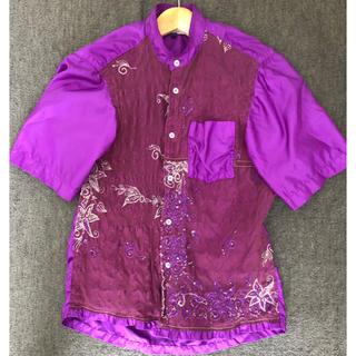 コムデギャルソン(COMME des GARCONS)のjunya watanade man 2005ss シャツ(シャツ/ブラウス(半袖/袖なし))