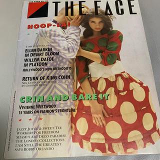 1987年5月号 THE FACE マガジン(ファッション)