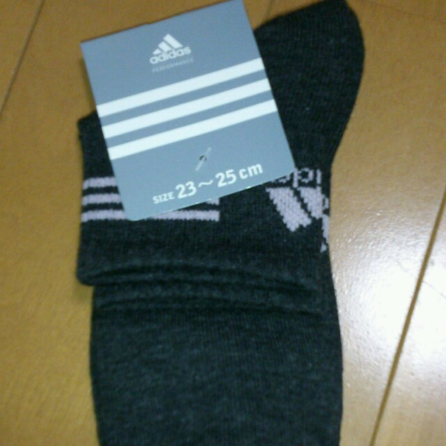 adidas(アディダス)のアディダスレディース靴下2足セット レディースのレッグウェア(ソックス)の商品写真