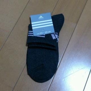 アディダス(adidas)のアディダスレディース靴下2足セット(ソックス)