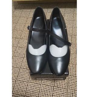 アオヤマ(青山)のパンプス 黒 I.M.G.N(23.5cm)洋服の青山(ハイヒール/パンプス)