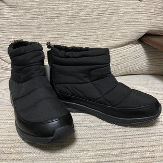ニコアンド(niko and...)の【新品未使用】nico and... ウォームブーツ 黒(ブーツ)